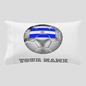 Argentina Soccer Ball (Custom) Pillow Case