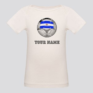Argentina Soccer Ball (Custom) T-Shirt