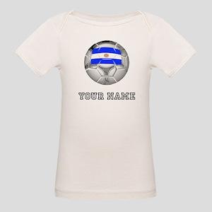 Argentina Soccer Ball (Custom) T-Shirt
