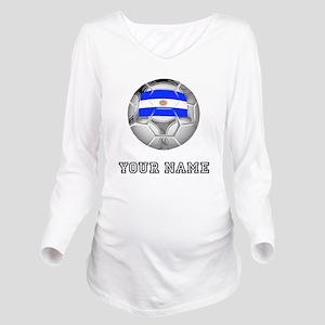 Argentina Soccer Ball (Custom) Long Sleeve Materni