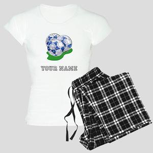 Soccer Balls (Custom) Pajamas