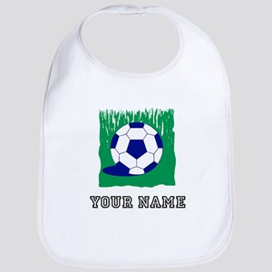 Soccer Ball In Grass (Custom) Bib