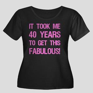 Women's  Women's Plus Size Scoop Neck Dark T-Shirt