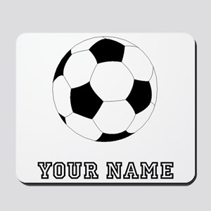 Soccer Ball (Custom) Mousepad