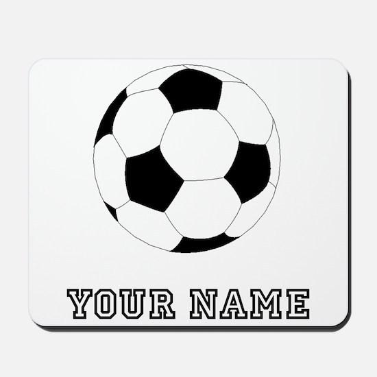 Soccer Ball (Custom) Mousepad
