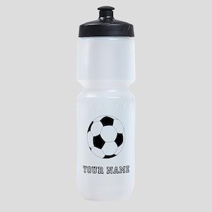 Soccer Ball (Custom) Sports Bottle