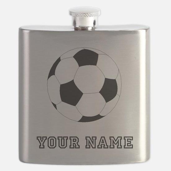 Soccer Ball (Custom) Flask