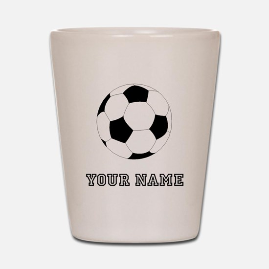 Soccer Ball (Custom) Shot Glass