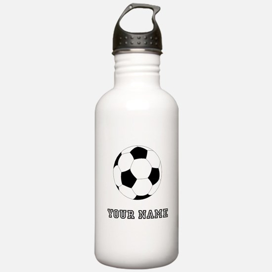 Soccer Ball (Custom) Water Bottle