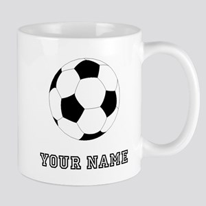 Soccer Ball (Custom) Mugs