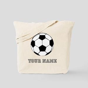 Soccer Ball (Custom) Tote Bag