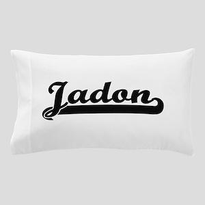 Jadon Classic Retro Name Design Pillow Case