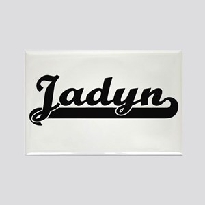 Jadyn Classic Retro Name Design Magnets