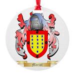 Mariot Round Ornament