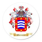 Marinuzzi Round Car Magnet