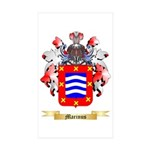 Marinus Sticker (Rectangle 50 pk)