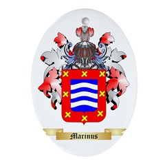 Marinus Ornament (Oval)