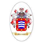 Marinucci Sticker (Oval)