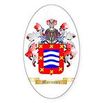 Marinovic Sticker (Oval 50 pk)