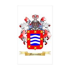 Marinotto Sticker (Rectangle 50 pk)