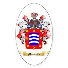 Marinotto Sticker (Oval 50 pk)