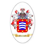 Marinoff Sticker (Oval 50 pk)