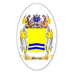 Marino Sticker (Oval 50 pk)