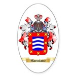 Marinkovic Sticker (Oval 10 pk)