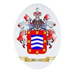 Marinic Ornament (Oval)