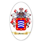 Marini Sticker (Oval 50 pk)