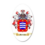 Marinho 35x21 Oval Wall Decal