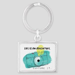 Capture Life Landscape Keychain