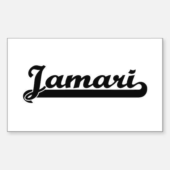 Jamari Classic Retro Name Design Decal