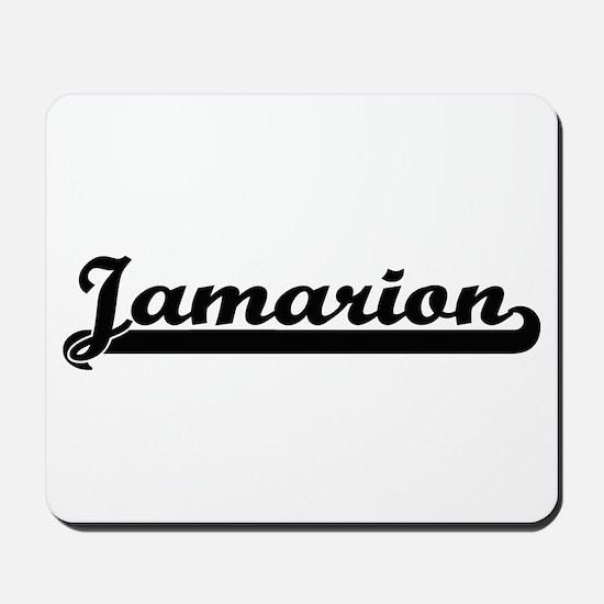 Jamarion Classic Retro Name Design Mousepad