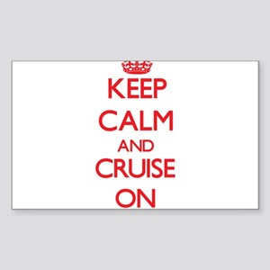 Keep Calm and Cruise ON Sticker