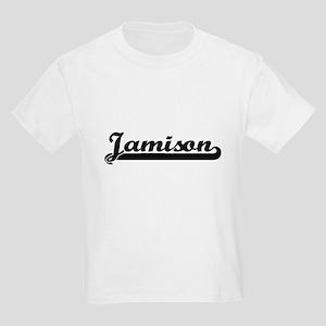 Jamison Classic Retro Name Design T-Shirt