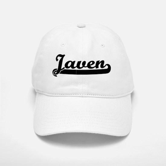 Javen Classic Retro Name Design Baseball Baseball Cap