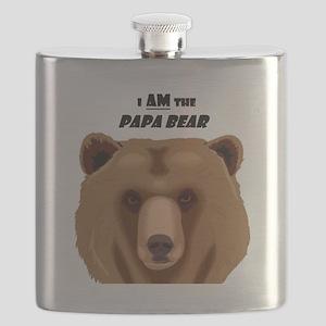 I Am the Papa Bear Flask