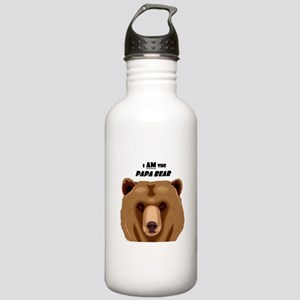 I Am the Papa Bear Stainless Water Bottle 1.0L