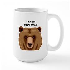 I Am the Papa Bear Large Mug