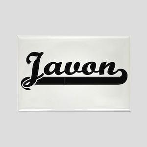 Javon Classic Retro Name Design Magnets