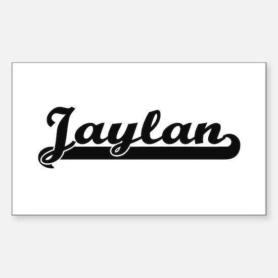 Jaylan Classic Retro Name Design Decal