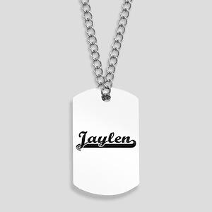 Jaylen Classic Retro Name Design Dog Tags
