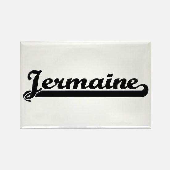 Jermaine Classic Retro Name Design Magnets