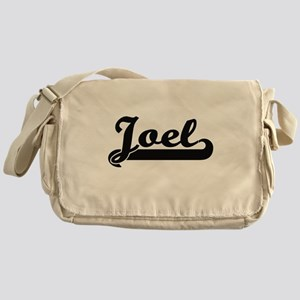 Joel Classic Retro Name Design Messenger Bag