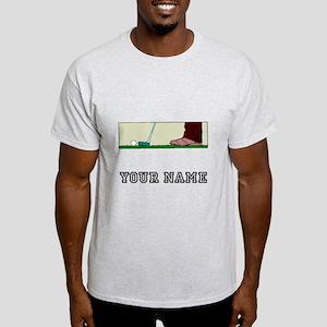 Golf Putt (Add Name) T-Shirt