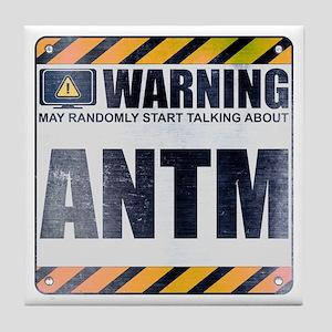 Warning: ANTM Tile Coaster