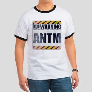 Warning: ANTM Ringer T-Shirt