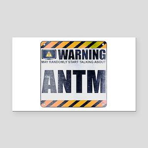 Warning: ANTM Rectangle Car Magnet