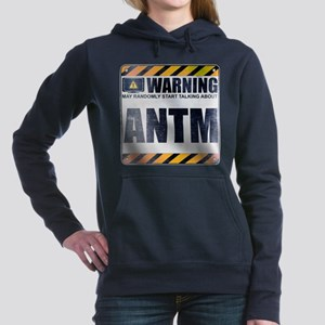 Warning: ANTM Woman's Hooded Sweatshirt